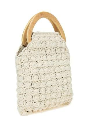 Bolsa croche off white