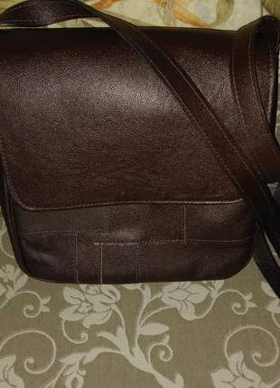 Bolsa carteiro em couro legitimo patchwork direto do fabricante feita artesanalmente