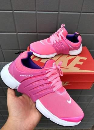 Tênis presto rosa