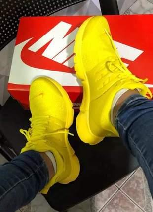 Nike presto amarelo (importado) + brinde.