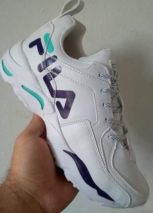 Tênis fila branco classic