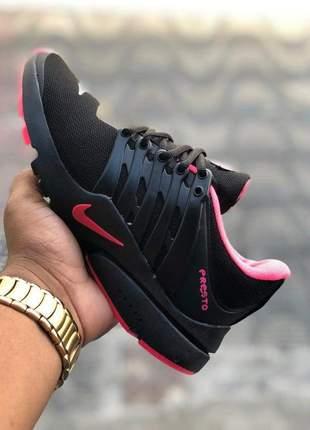 Nike presto preto-rosa 2019