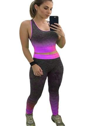 Conjunto fit roupa academia fitness crossfit feminino ref 54a