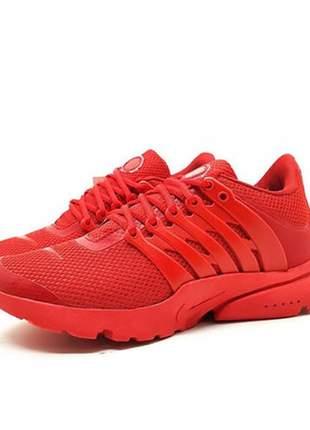 Tênis feminino nike air presto vermelho para academia