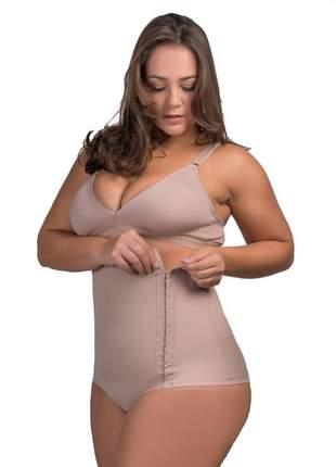 Cinta modeladora plus size pós-parto cirurgia nude