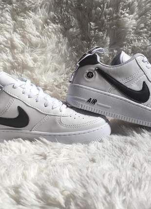 Nike air force branco/preto