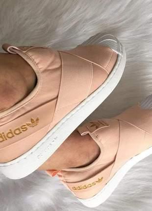 Adidas slip on nude