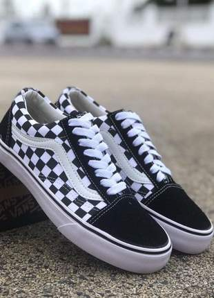Vans old skool xadrez