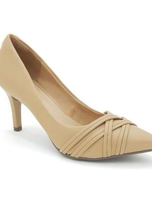 Sapato scarpin via uno salto alto bege