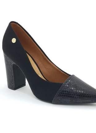 Sapato scarpin salto grosso