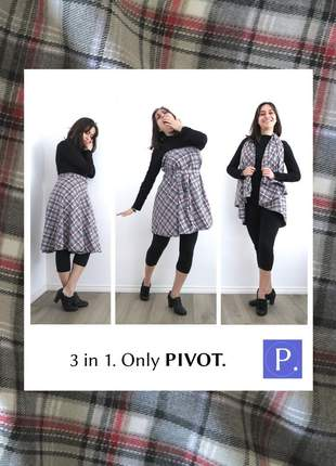 Saia pivot multiuso midi. lãzonha xadrez 4