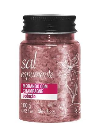 Sais de banho aromático para banheira morango com champanhe - 100g