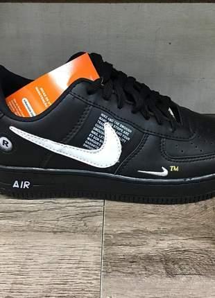 Nike air force preto/branco