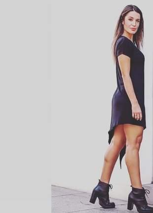 Dress preto, forrado.