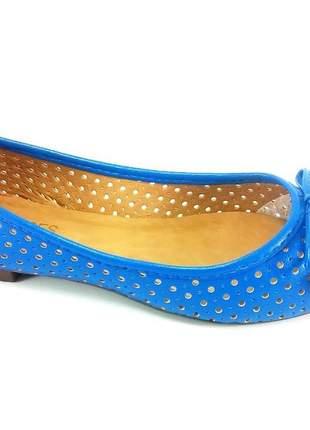 Sapatilha rr shoes laser azul