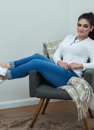 Calça jeans skinning lala