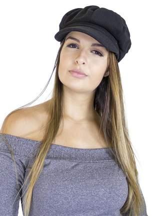 Boina dress code moda preta