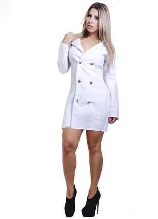 Casaco dress code moda branco