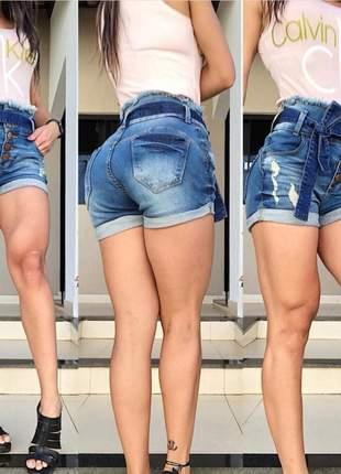 Short clochard têjota jeans