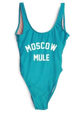 Maio com frase moscow mule