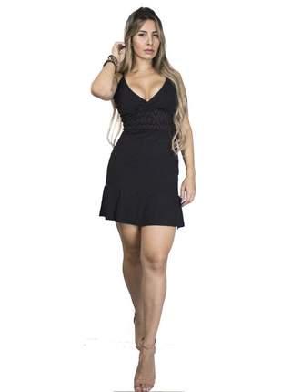 Vestido dress code moda preto