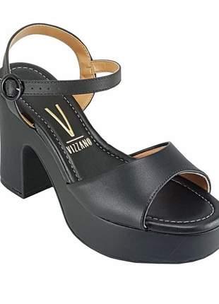 Sandália salto grosso  vizzano