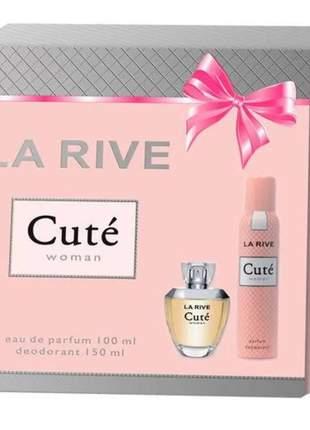 La rive cuté kit  eau de parfum e desodorante