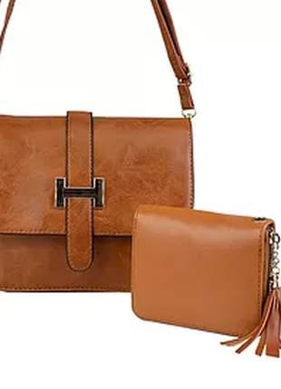 Kit bolsa + carteira luxo