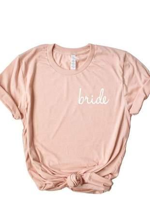 Camiseta bride