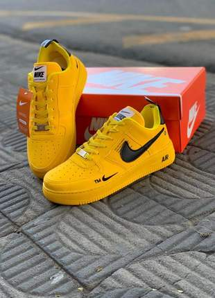 Tenis nike air force amarelo