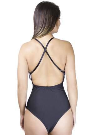 Body dress code moda renda preto