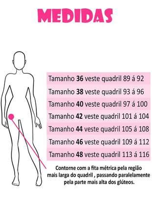 Calça jeans levanta bumbum cintura média azul claro tamanho 38 / 40 / 42 / 44