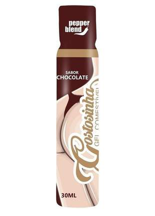 Gel corporal para massagem comestível sabor chocolate - 30 ml