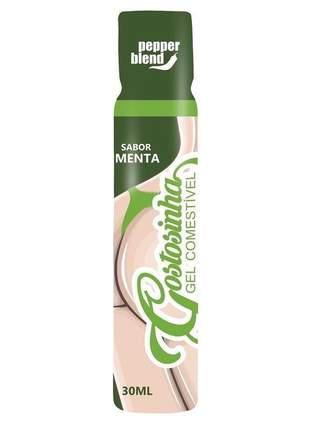 Gel corporal para massagem comestível sabor menta - 30 ml