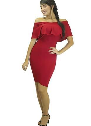 b19be79bf53670 Vestidos vermelhos curtos - compre online, ótimos preços | Shafa