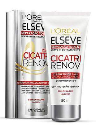 Leave-in de elseve reparação total 5+ cicatri renov 50ml