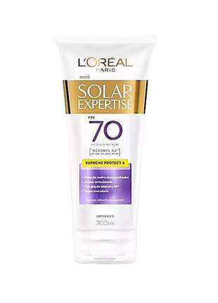 Protetor solar expertise supreme protect fps 70 l'oreal paris 200ml