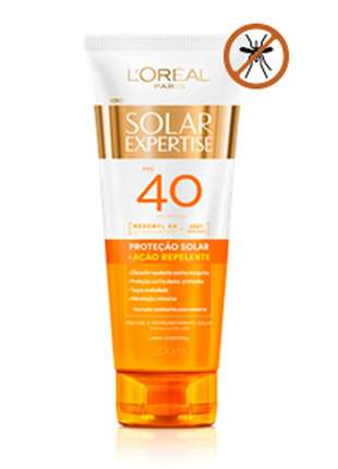 Protetor corporal com ação repelente - solar expertise fps 40 l'oréal paris - 200ml