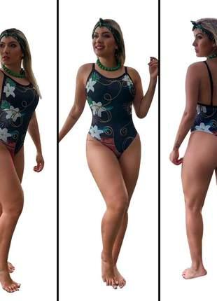 Maiô body feminino - moda praia ref 4366