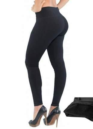 Calça legging feminina cintura alta
