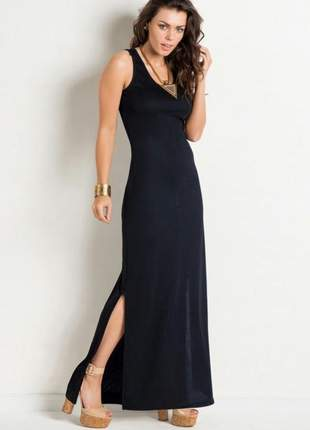 c2e1a834db3d Vestido com fenda - compre online, ótimos preços | Shafa