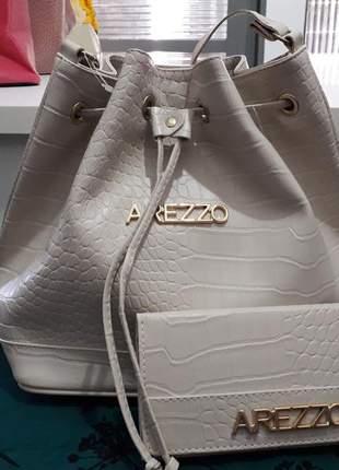 Bolsa bag + carteira arezzo