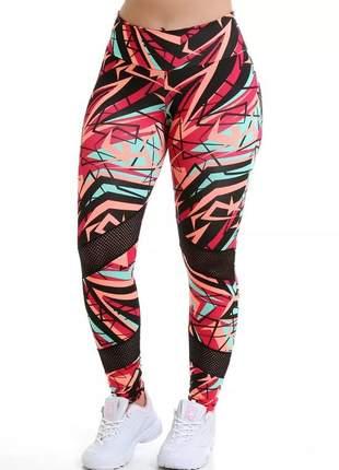 Kit 6 calças legging fitness atacado promoção 6211/6207
