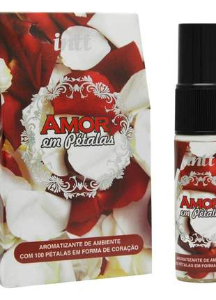 Pétalas perfumadas romântica com aromatizante de ambiente