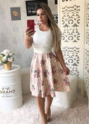 Vestido plus size lindo