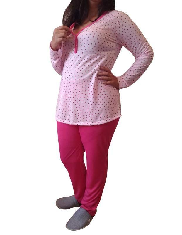 272c9c827155d5 Pijama feminino inverno gestante e amamentação 9217 - linda gestante - R$  84.90 | SHAFA - O melhor da moda feminina
