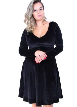Vestido de veludo