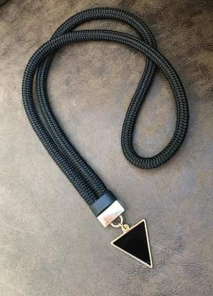 Colar de corda black divo🤩