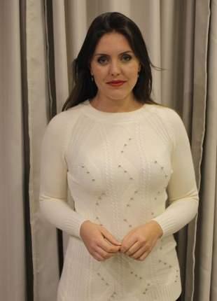 Blusa feminina de tricot