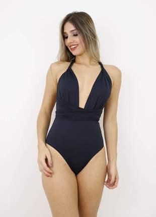 Body maio preto feminino